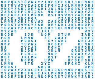 Logo der Ostsee-Zeitung als ASCII art